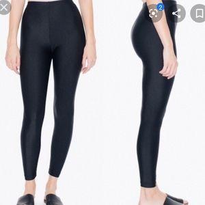 2/$10🌻 American Apparel shiny black leggings S